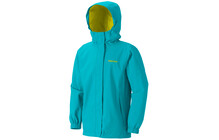 Marmot Girl's Storm Shield Jacket breeze blue